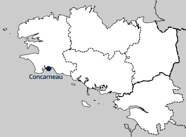 Concarneau, Bretagne