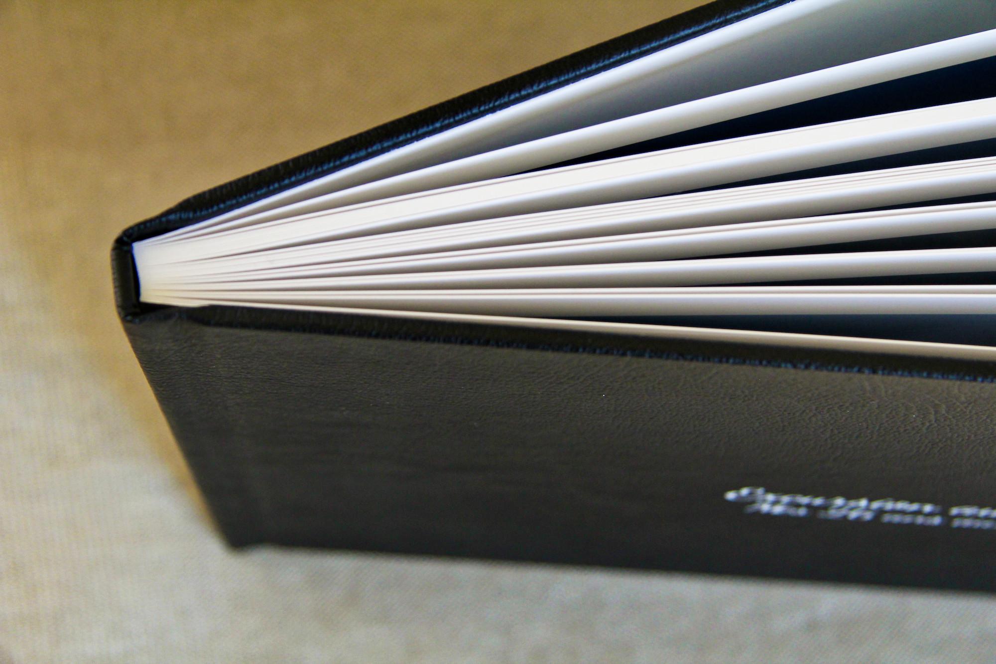 Imprimer ses photos - tranche album Saal Digital