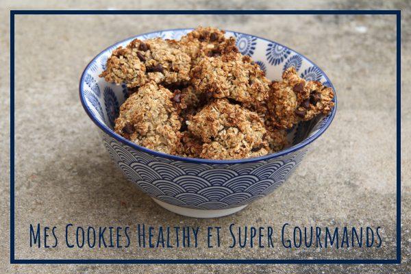 Read more about the article Cookies Flocons d'Avoine, Banane et Chocolat