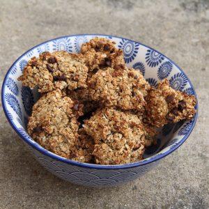 cookies flocons d'avoine et chocolat