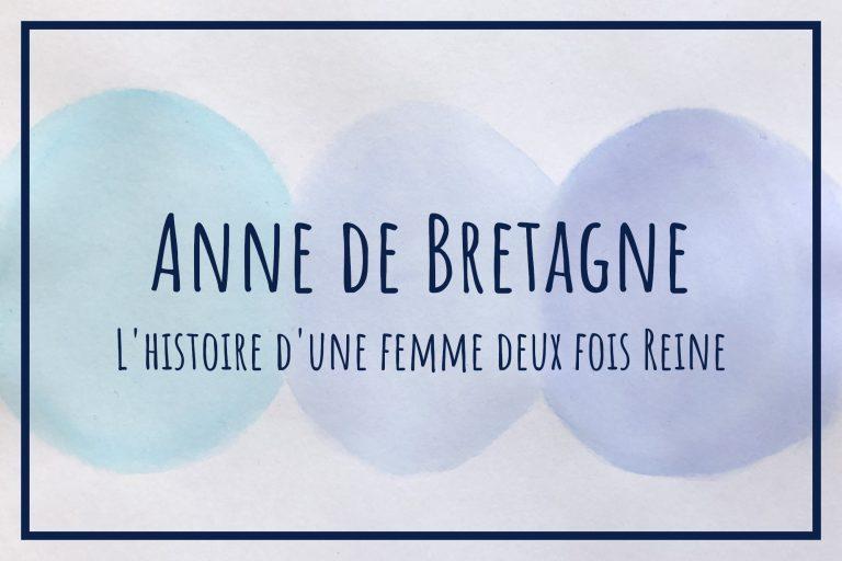 Read more about the article Anne de Bretagne