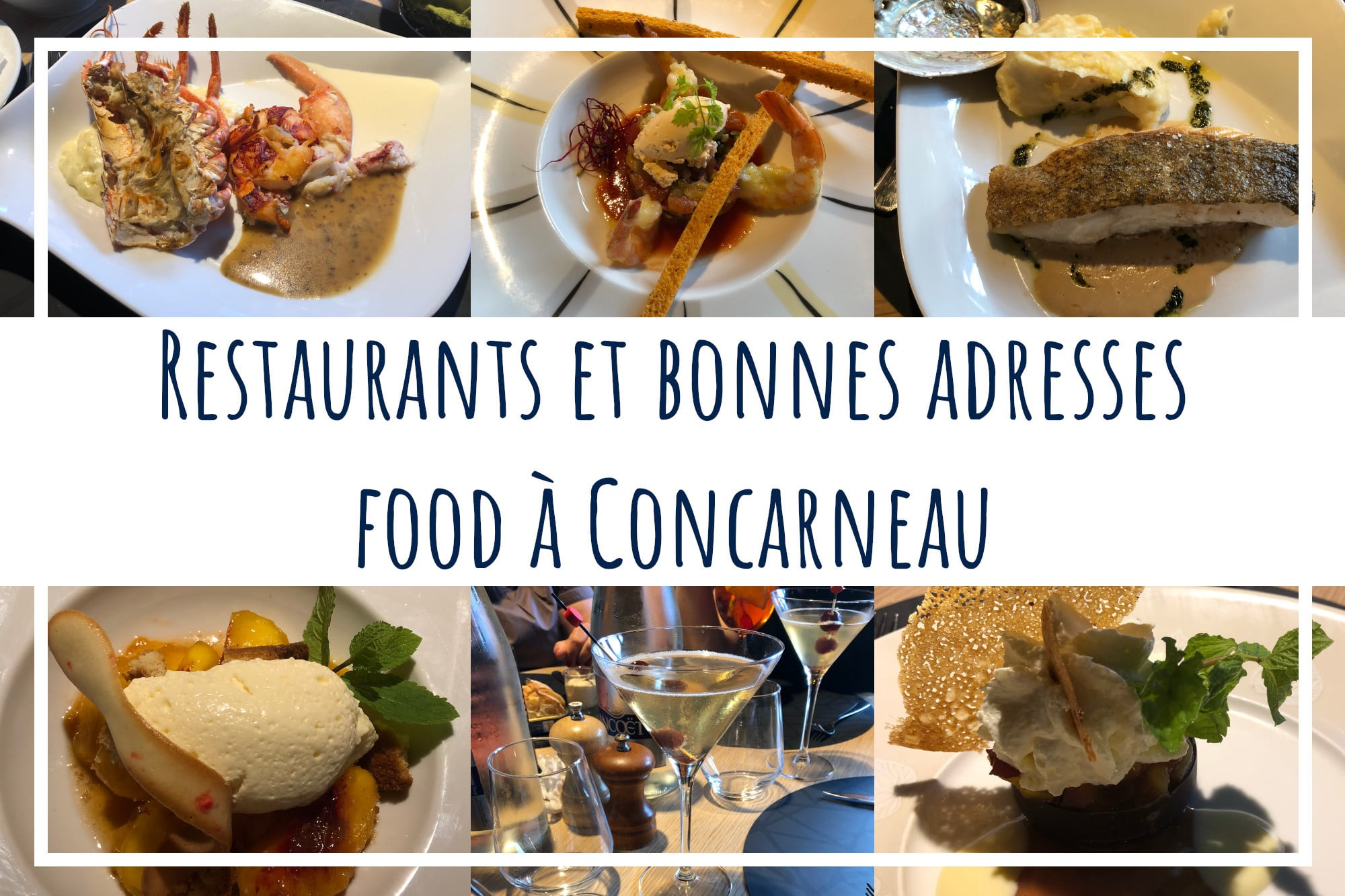 restaurants à concarneau