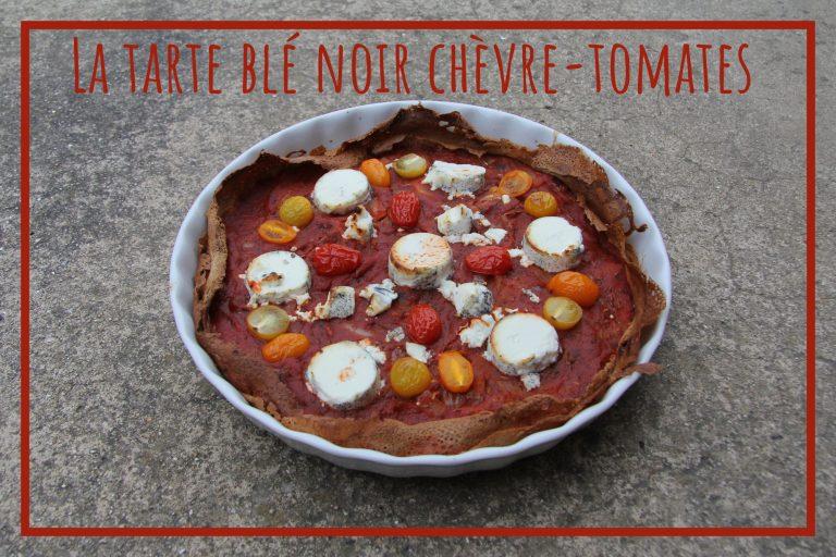 Read more about the article La tarte de crêpes blé noir chèvre-tomates