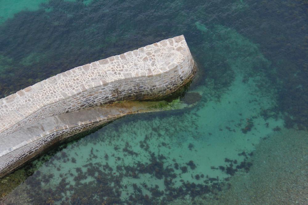 Ile Vierge et eaux turquoises
