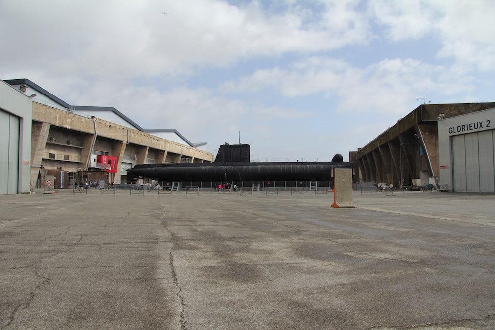 Sous-marin Lorient La Base