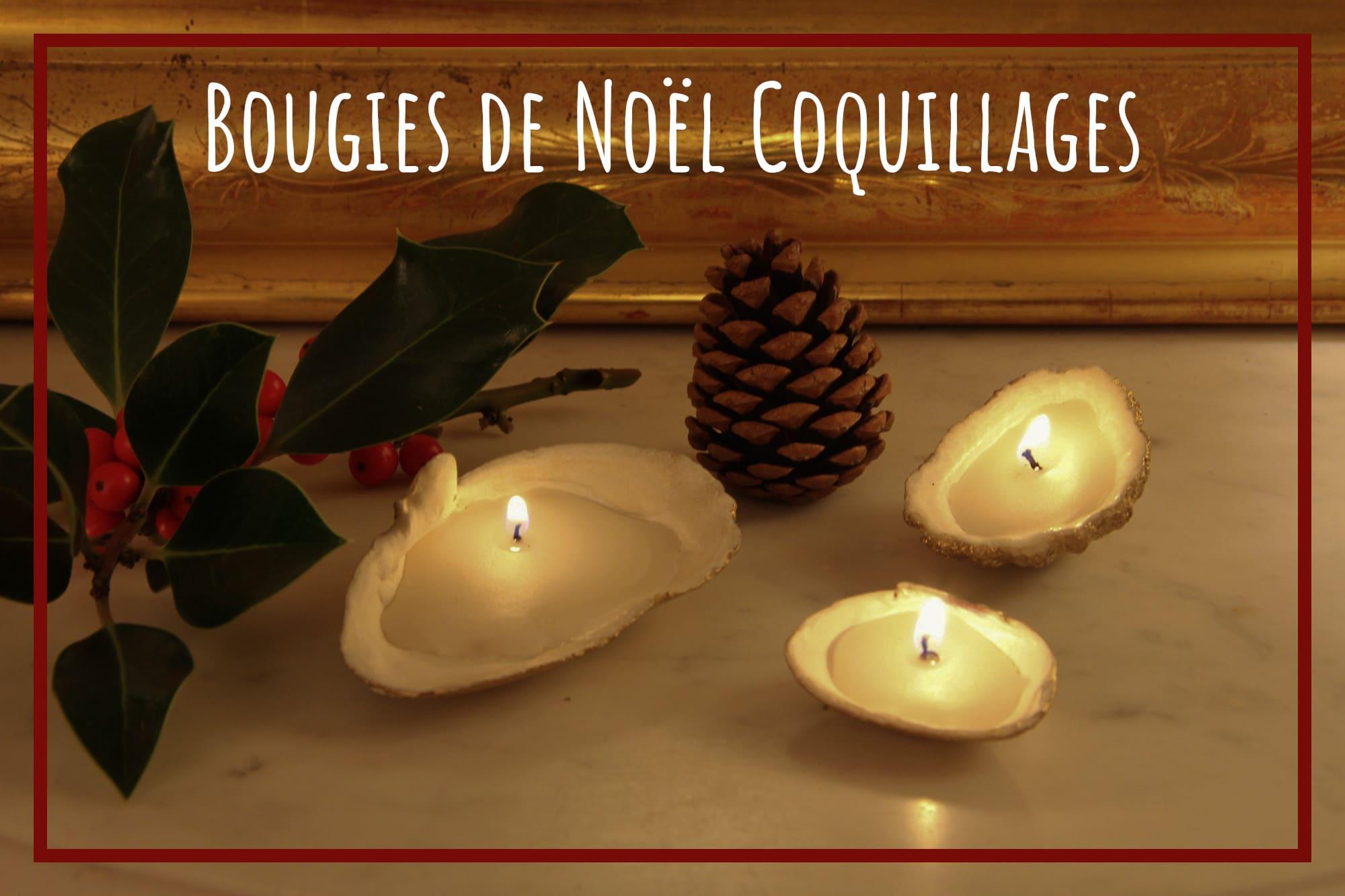 Bougies de Noël DIY