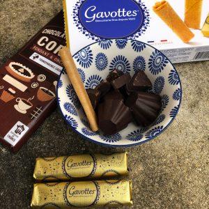 Chocolats de Noel et gavottes bretonnes