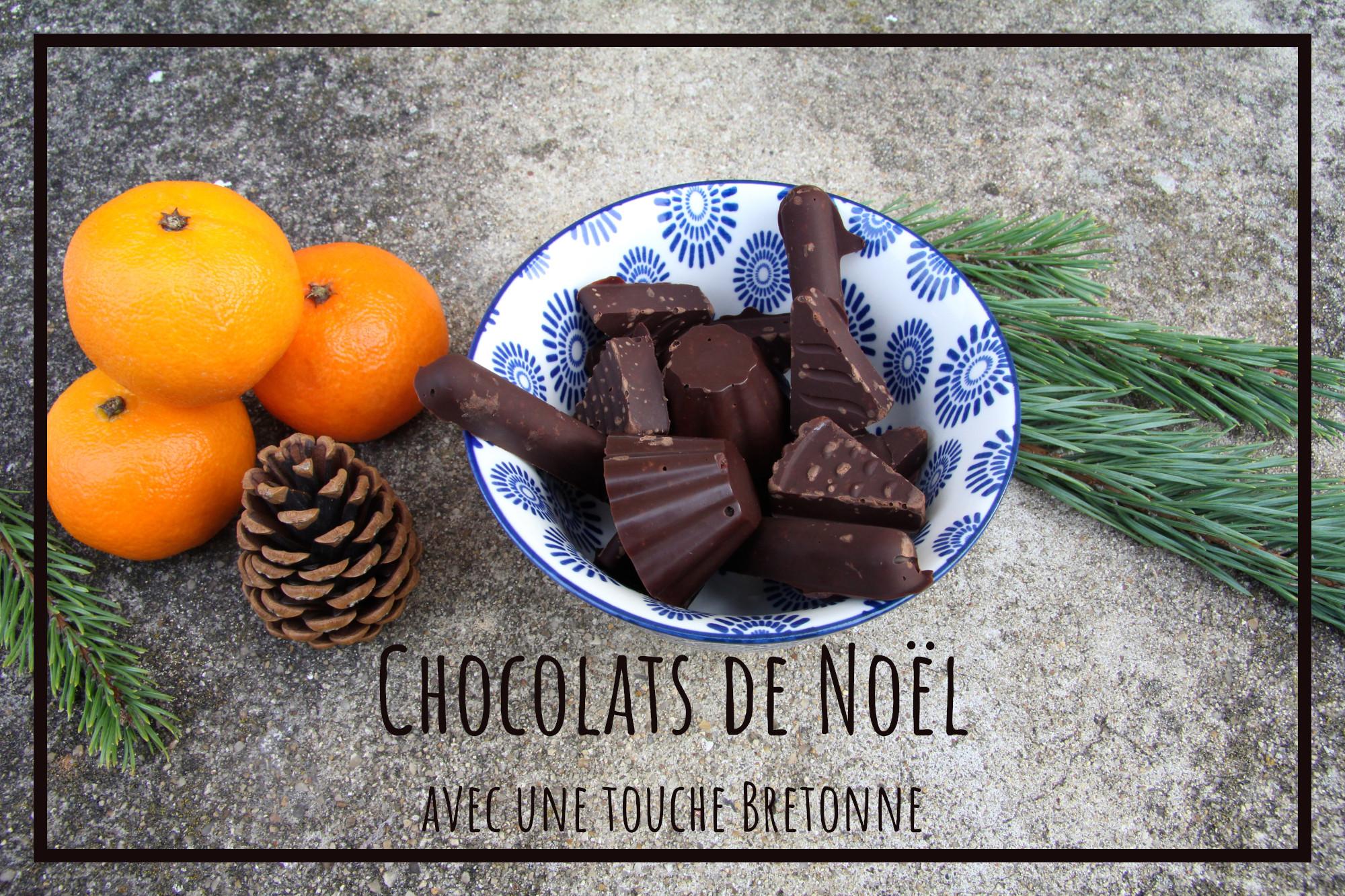 You are currently viewing Chocolats de Noel faits maison et au bon goût de Bretagne