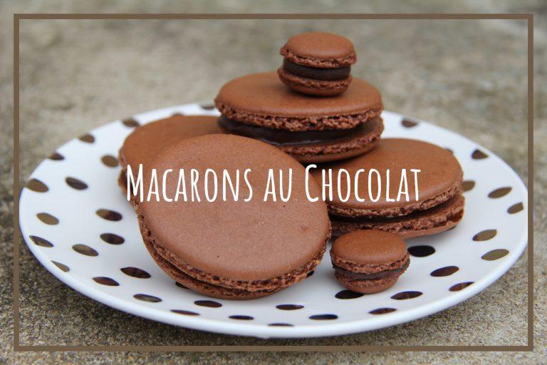 Read more about the article Recette de Macarons au Chocolat