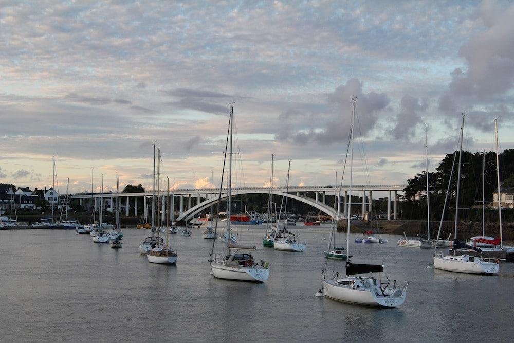 Balade à la trinité-sur-mer le port