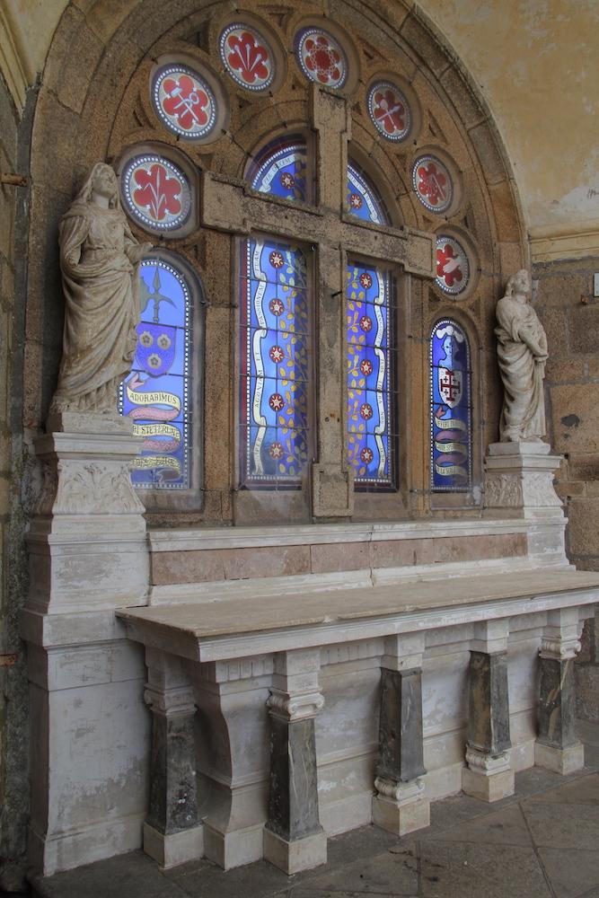 Intérieur de la Scala Sancta