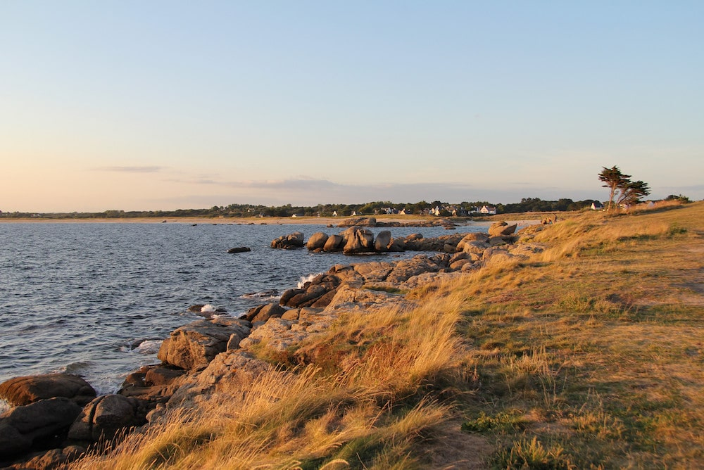 Pointe de Trévignon - vers l'Ouest