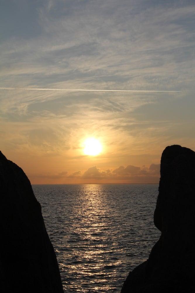 Sunset Pointe de Trévignon