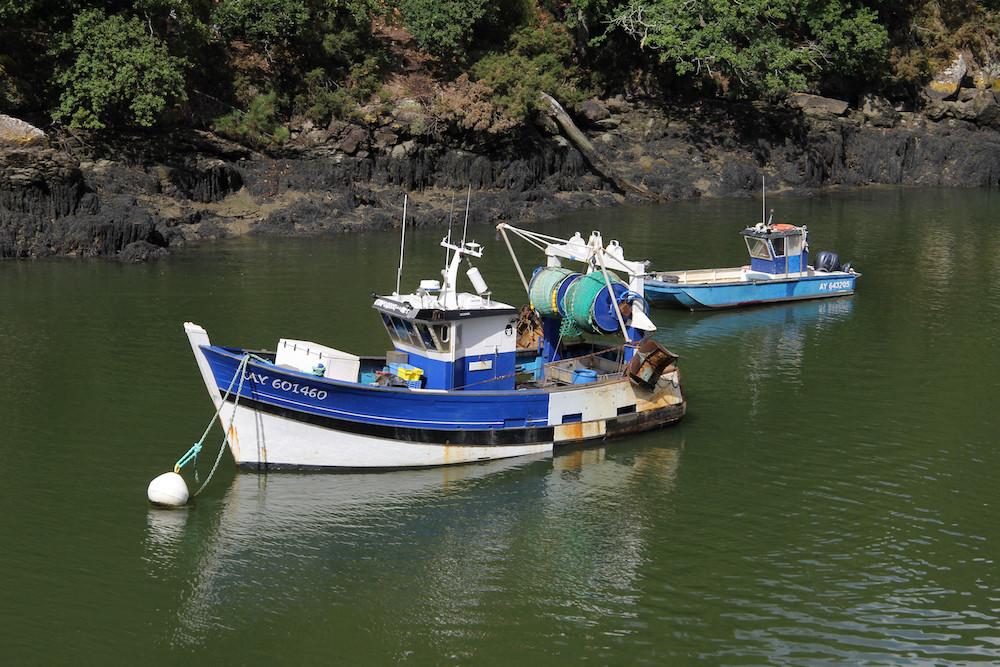 Bateaux de pêcheurs sur le Bono
