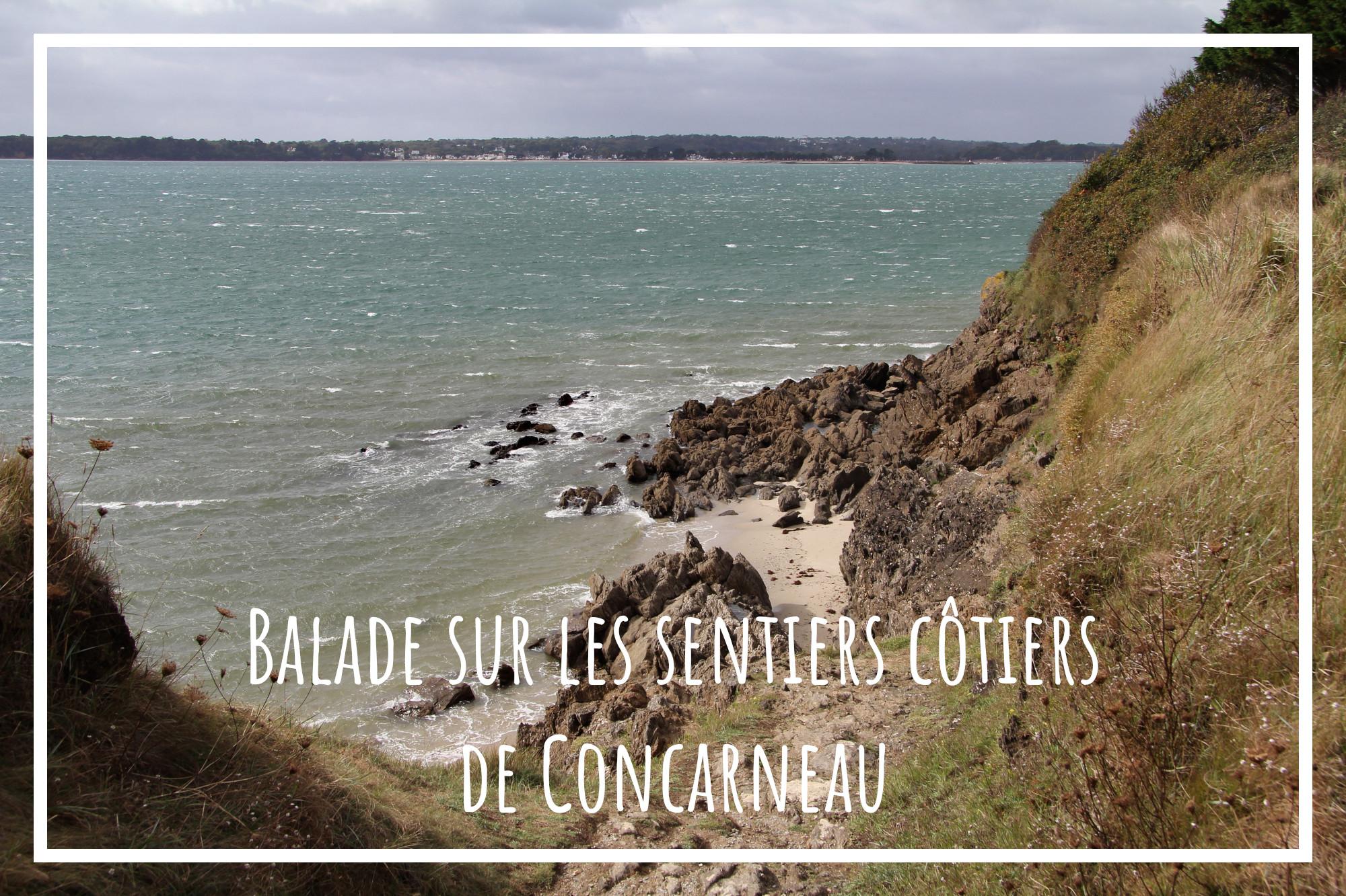 Balade à Concarneau, sur le sentier côtier