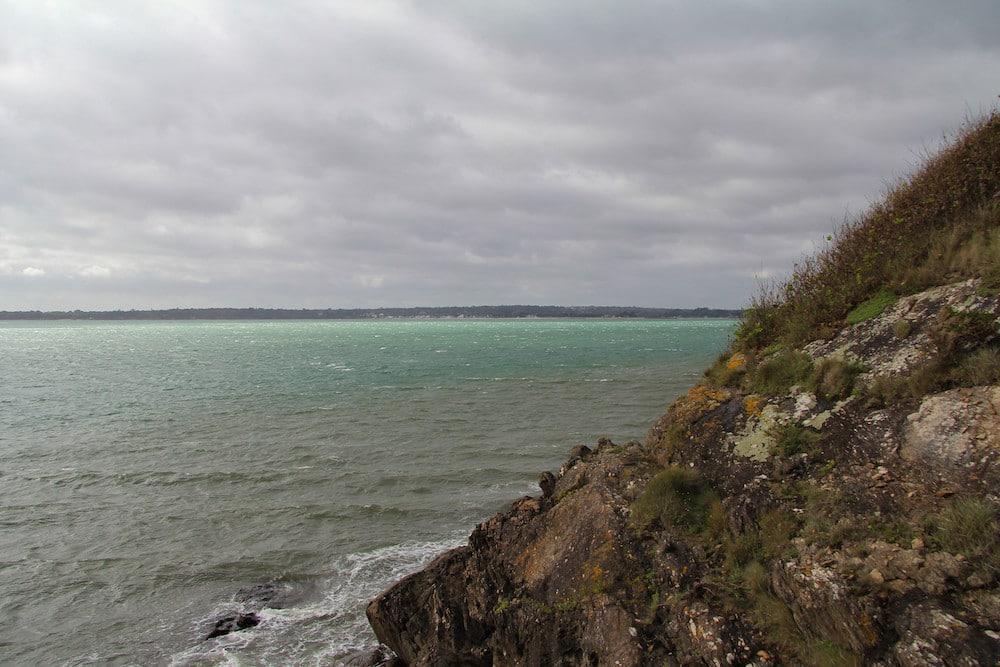 Les couleurs d'hiver sur la baie de Concarneau