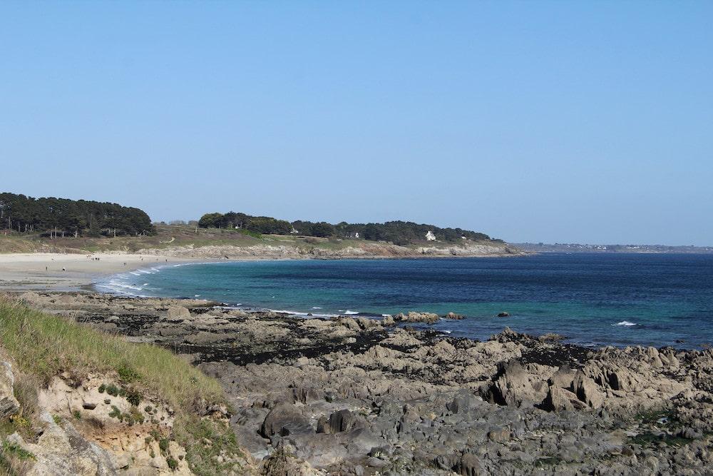 La plage de Raguenez