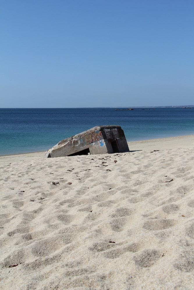 Bunker sur la plage