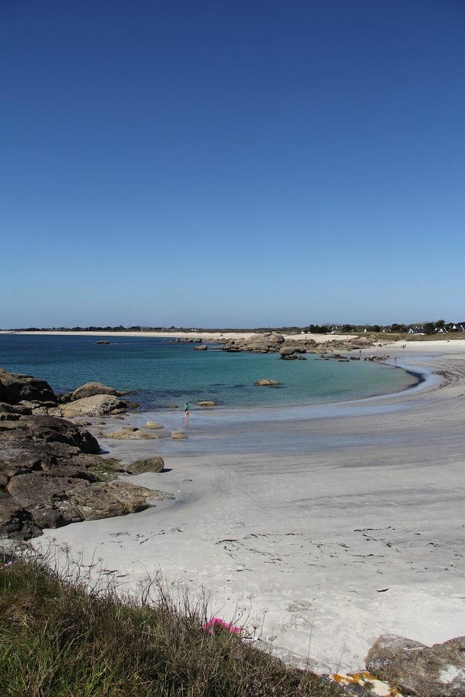 Eaux turquoises sur les plages de Trégunc