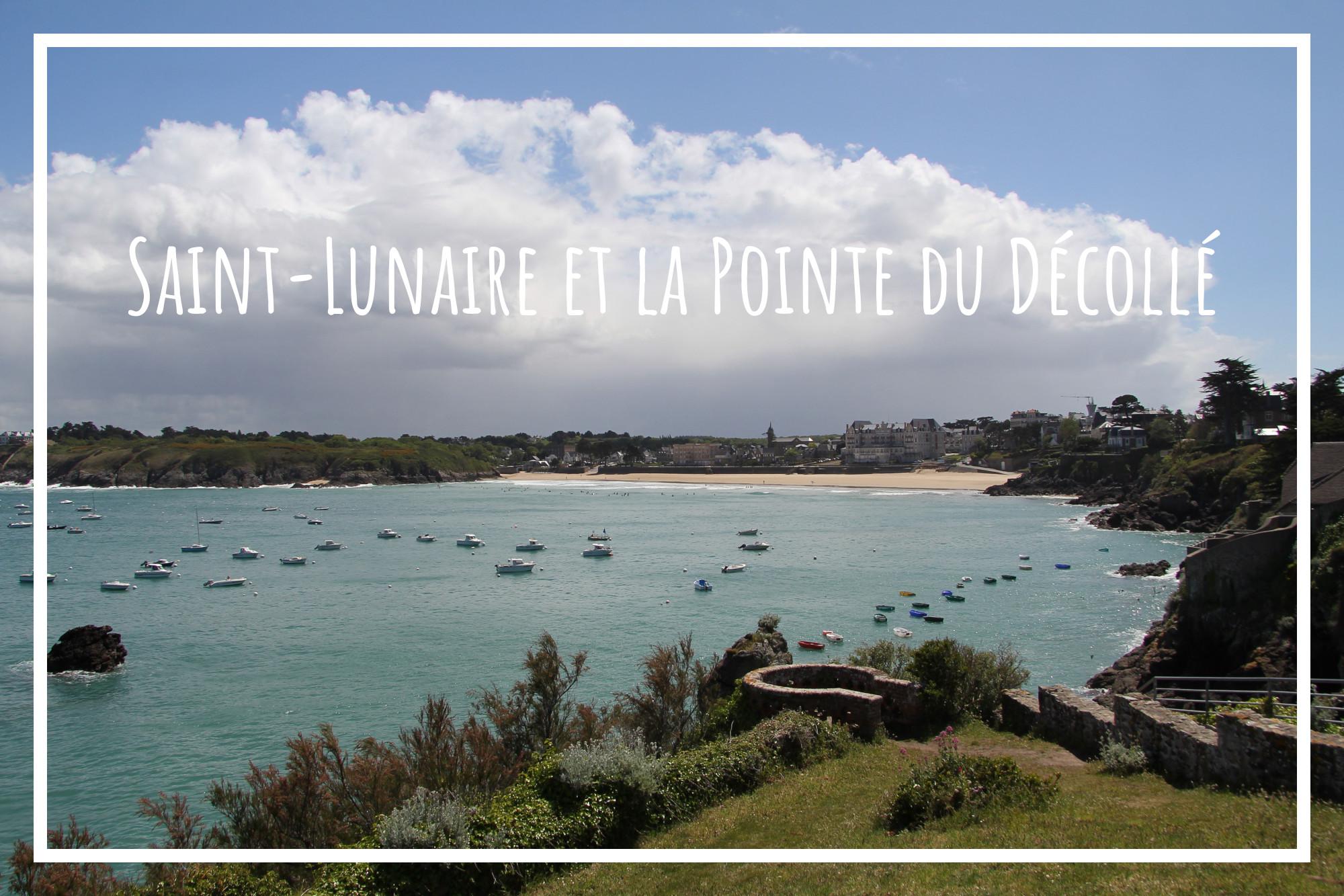 Saint Lunaire et la Pointe du Décollé