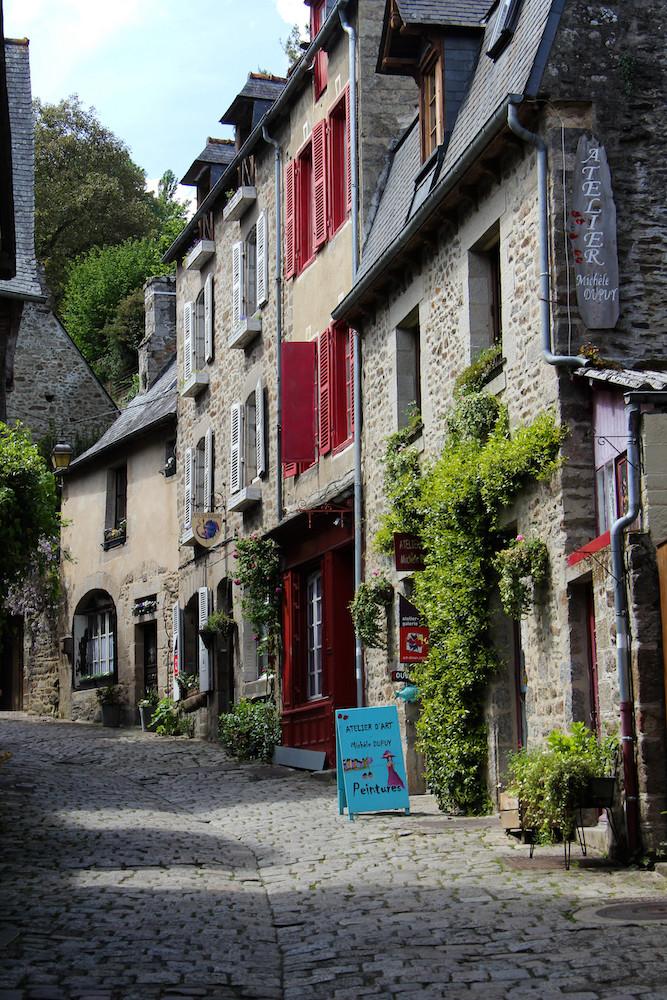 La rue du Petit Fort et ses ateliers d'art