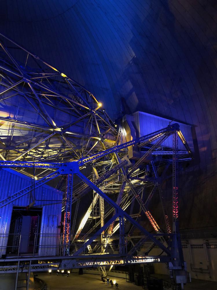 La cabine supérieure de l'antenne PB1