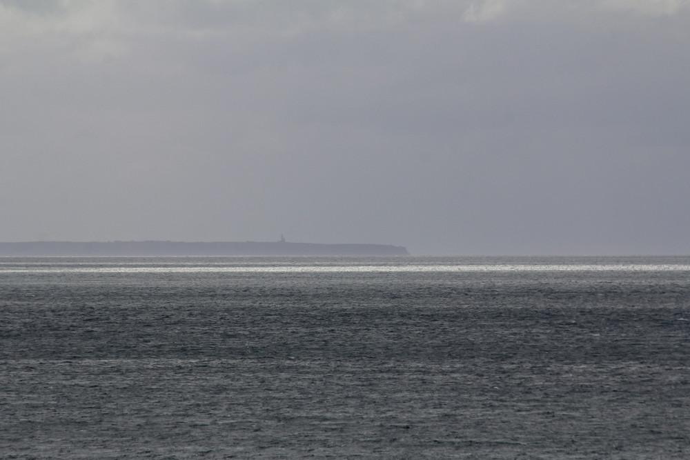 Le Cap Fréhel au loin