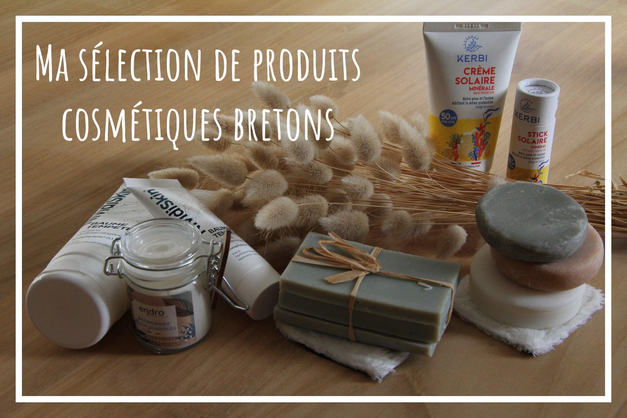 You are currently viewing Produits cosmétiques bretons – ma petite sélection