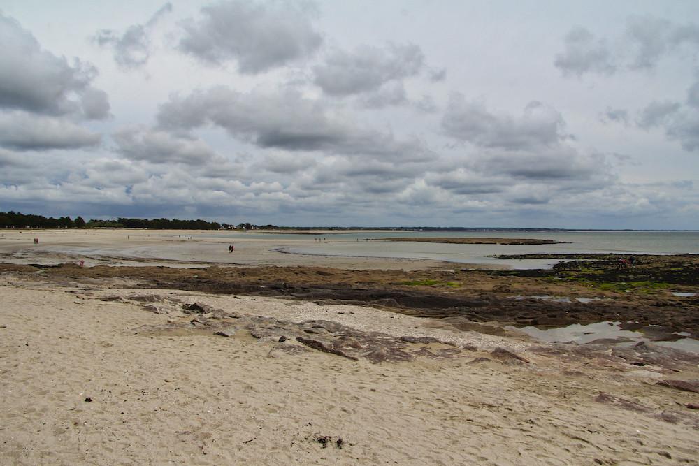 Les plages de l'Île-Tudy